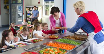 Schools are being told that they should offer vegan food options