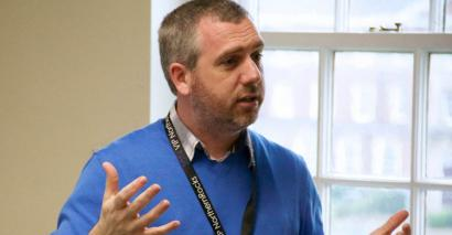 Michael Tidd, headteacher of Medmerry Primary in Sussex