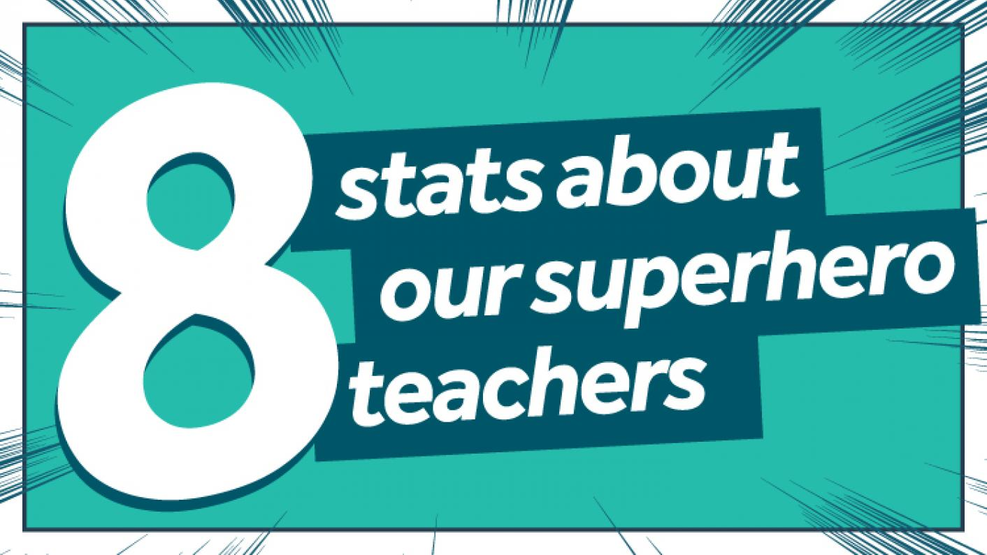 8 Stats About Our Superhero Teachers