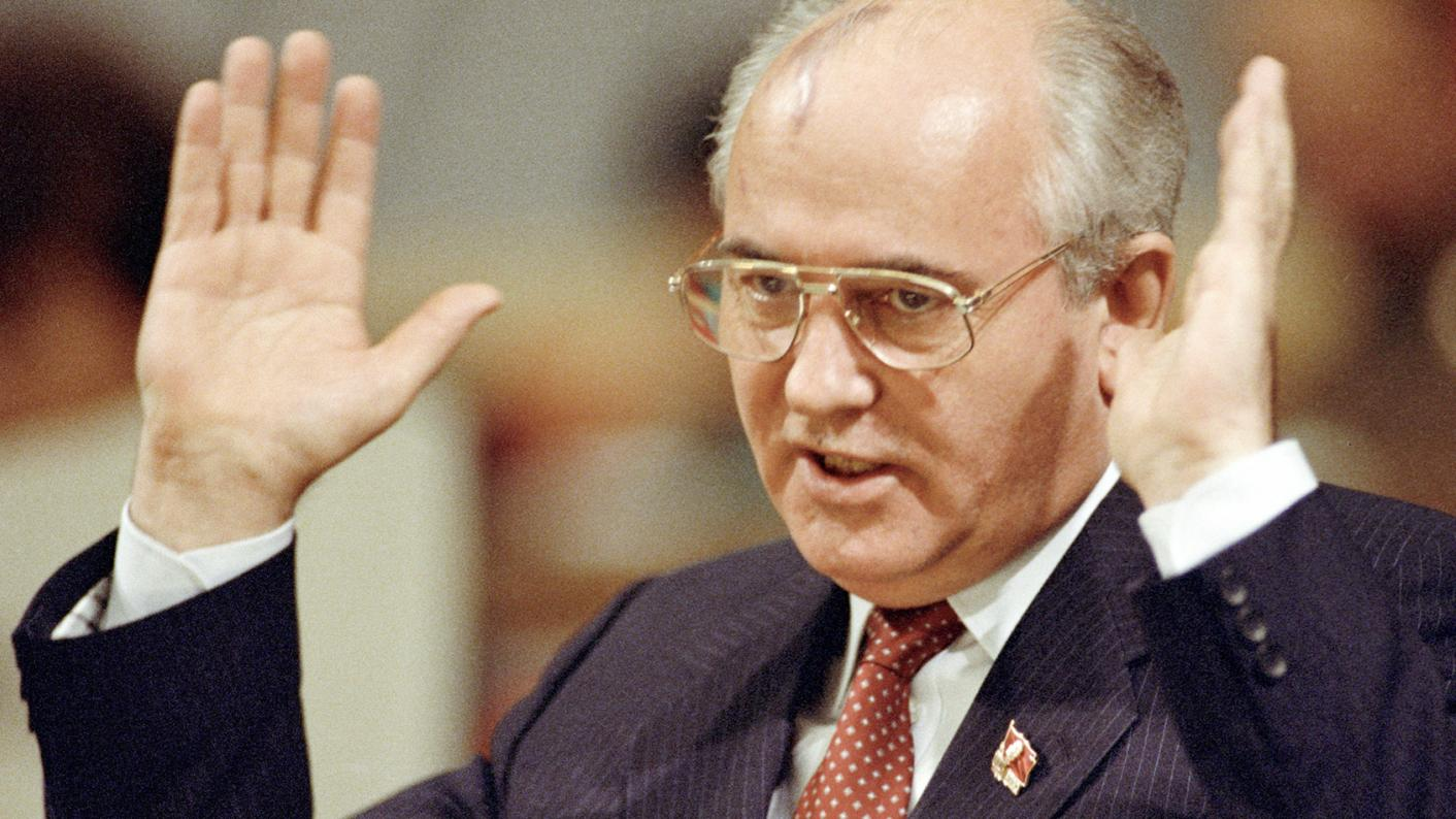 Mikhail Gorbachev admitted that he was responsible for the collapse of the USSR 04/25/2016 84