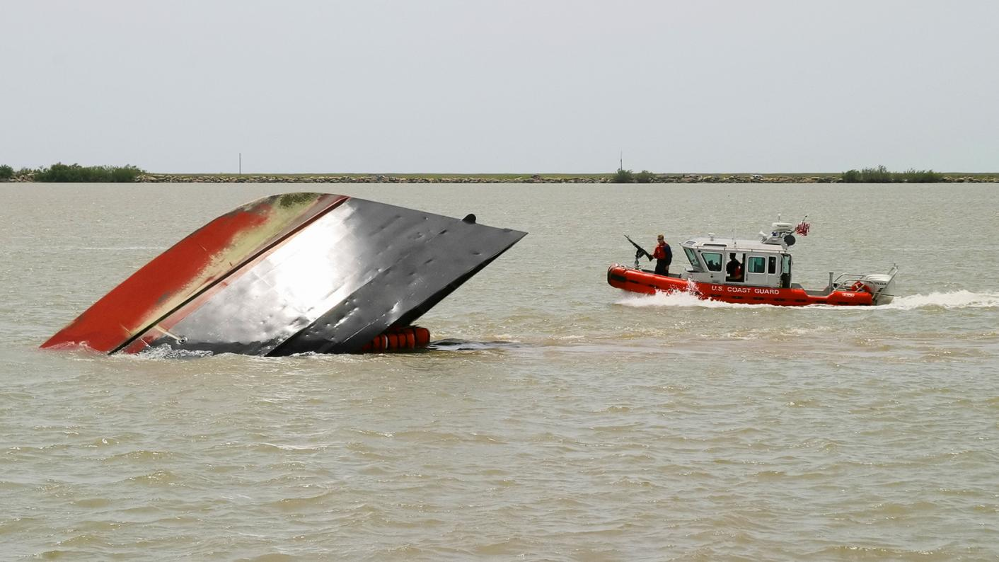 Boat capsized