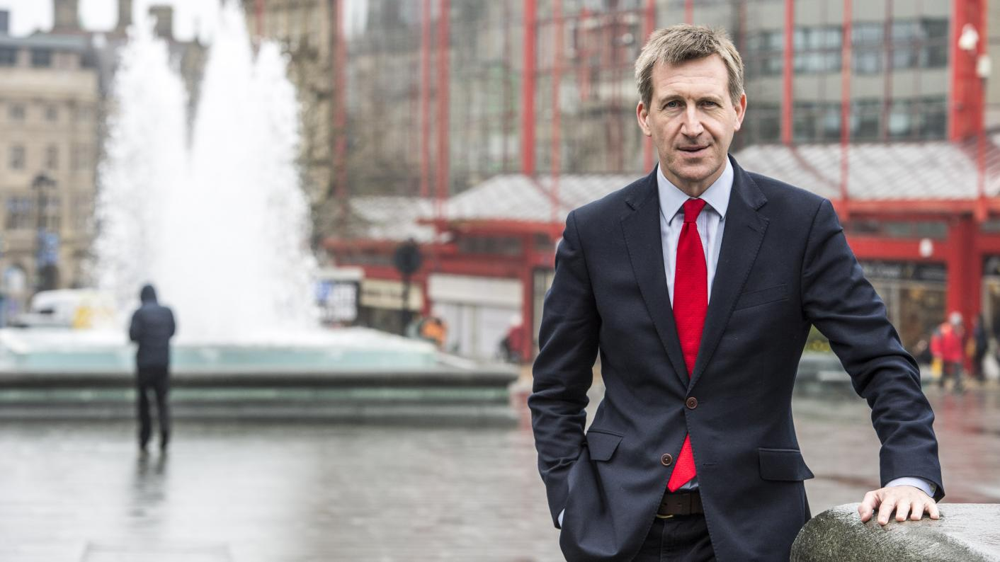Dan Jarvis is the Sheffield City Region metro mayor and Labour MP for Barnsley Central