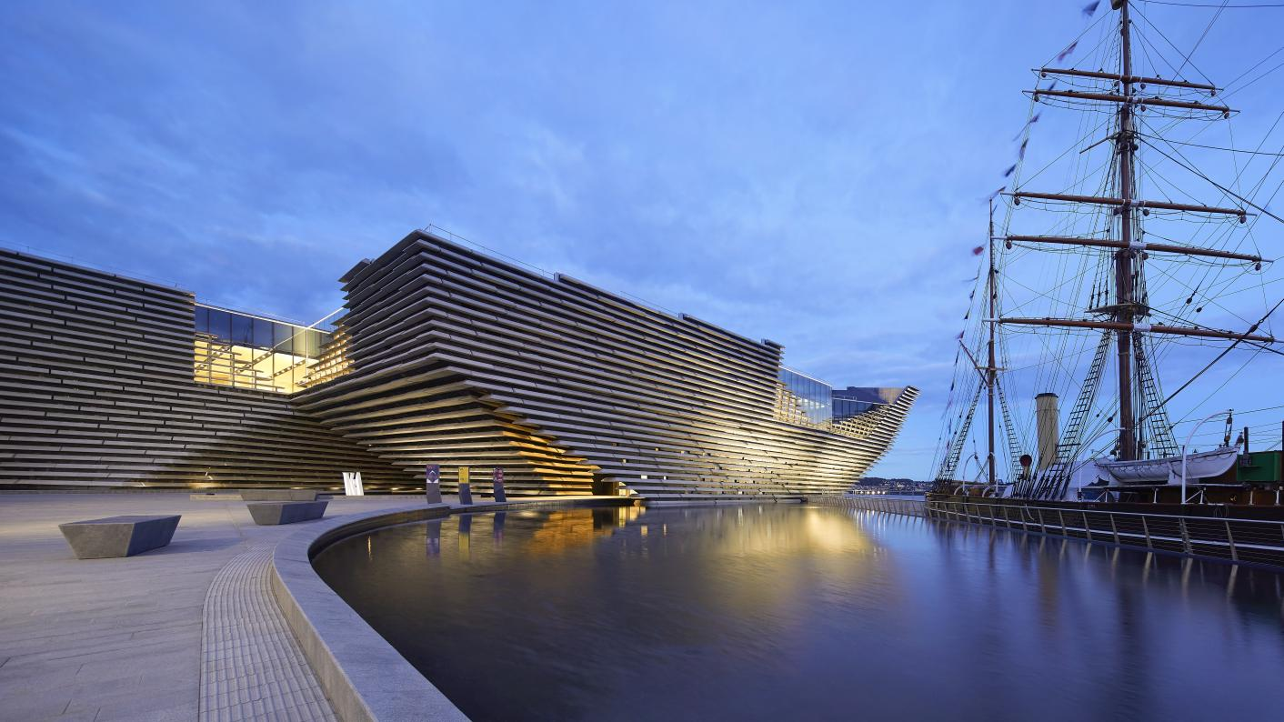 School pupils should learn 'design thinking' and be challenged to solve problems, says the director of the V&A Dundee
