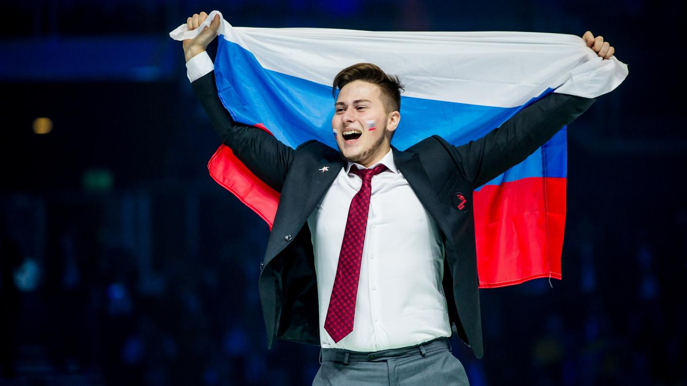 Russia first place EuroSkills Budapest 2018