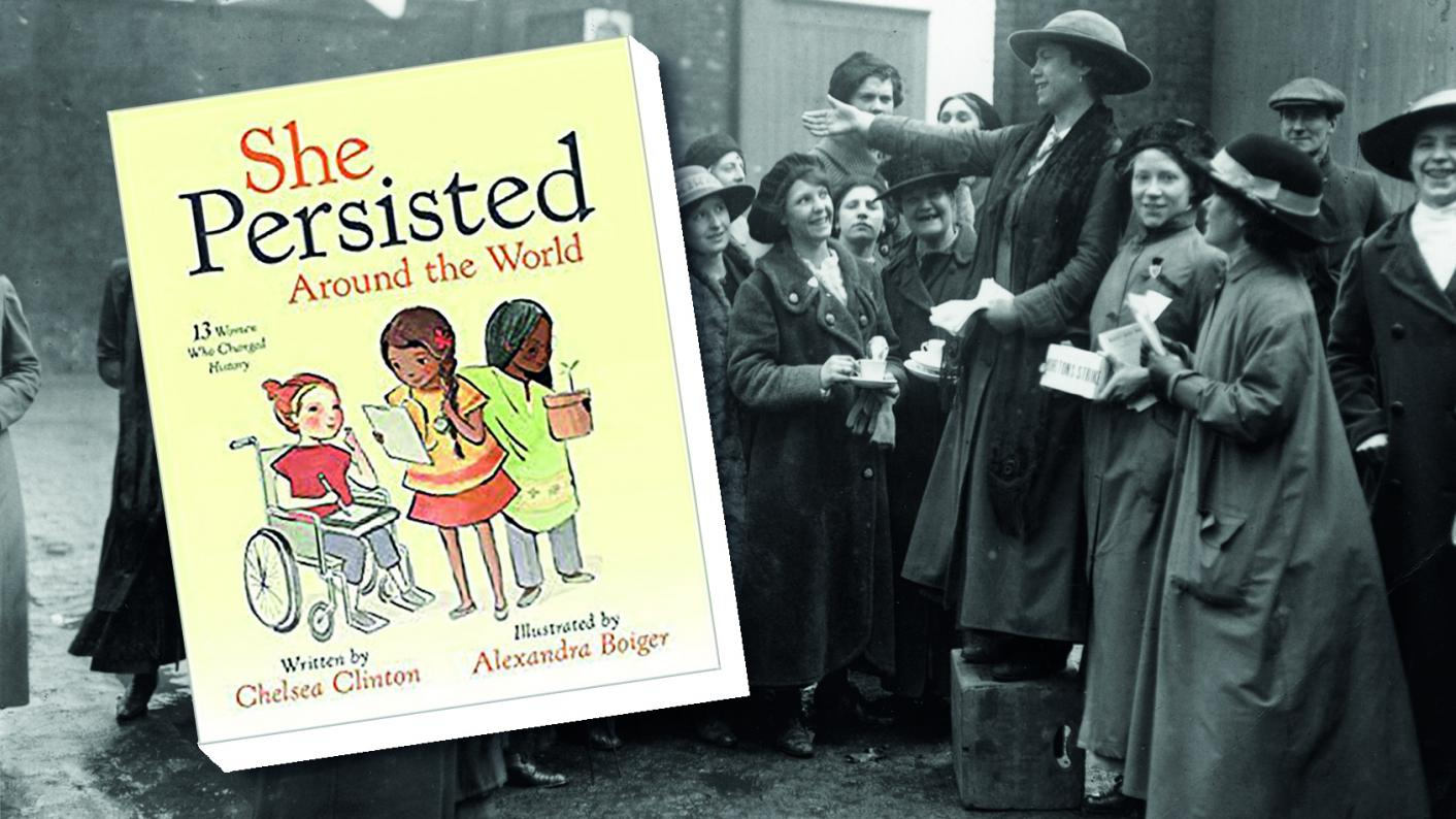 The class book review: She Persisted Around the World: 13 women who changed history