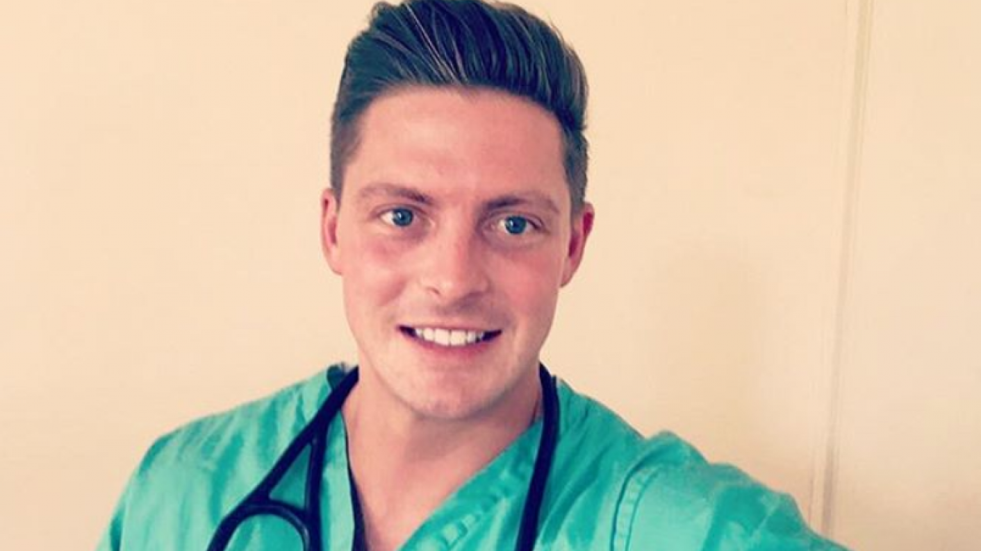 Love Island contestant Dr Alex George will be at WorldSkills UK Live at the NEC in Birmingham