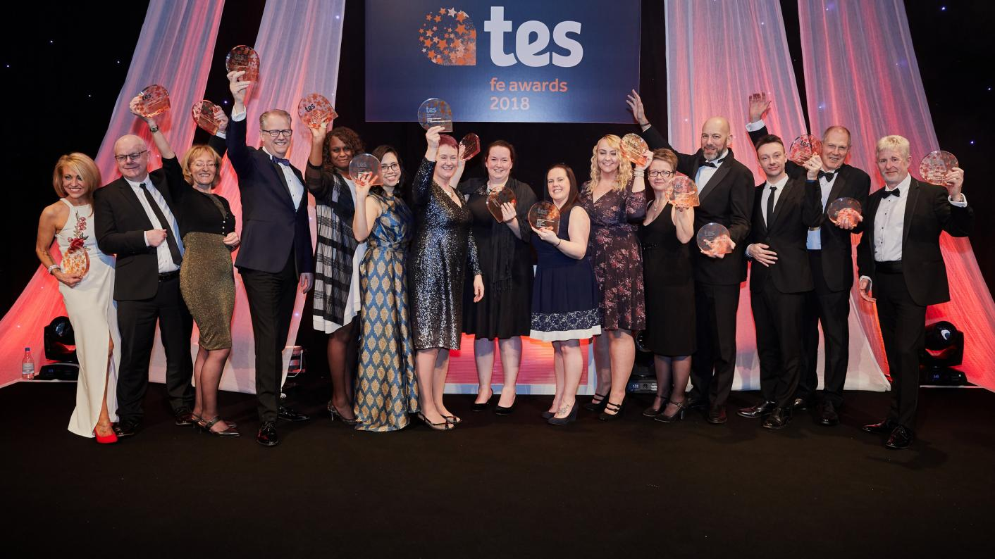 The finalists have been announced for the Tes FE Awards and Association of Colleges Beacon Awards