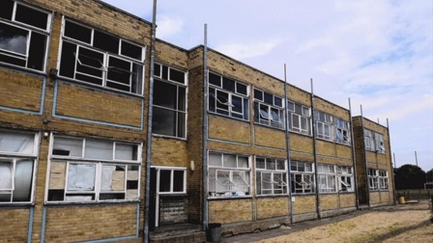 It is shocking how many school buildings are in urgent need of renovation, writes David Hall