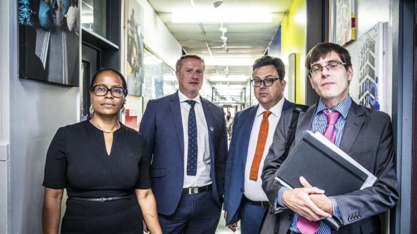 TV's 'School' star hits back at minister's 'plenty of money' jibe