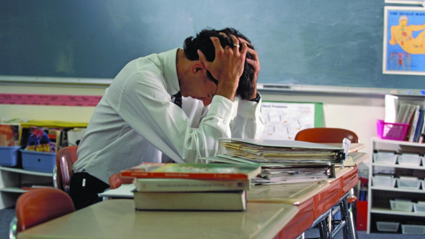 Teacher mental health: Pressure has been blamed for rise in mental health absence