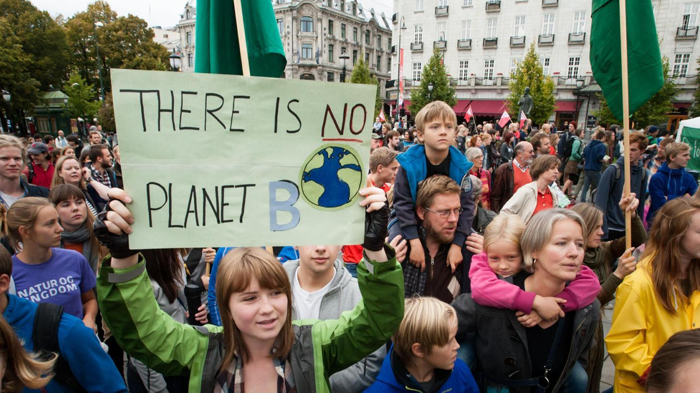 Thousands of children have walked out of school to protest over climate change