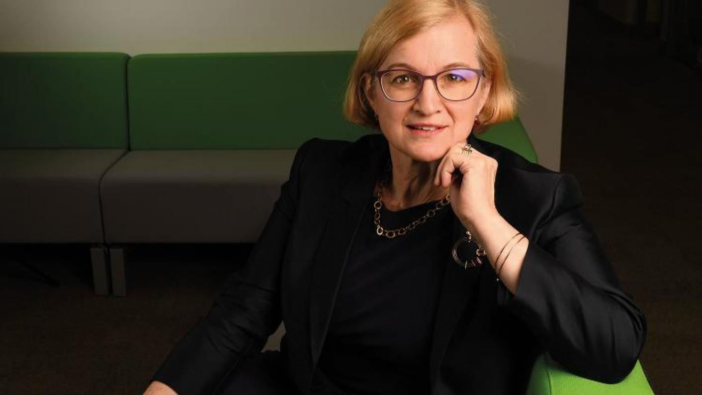Amanda Spielman spoke at the Festival of Education.