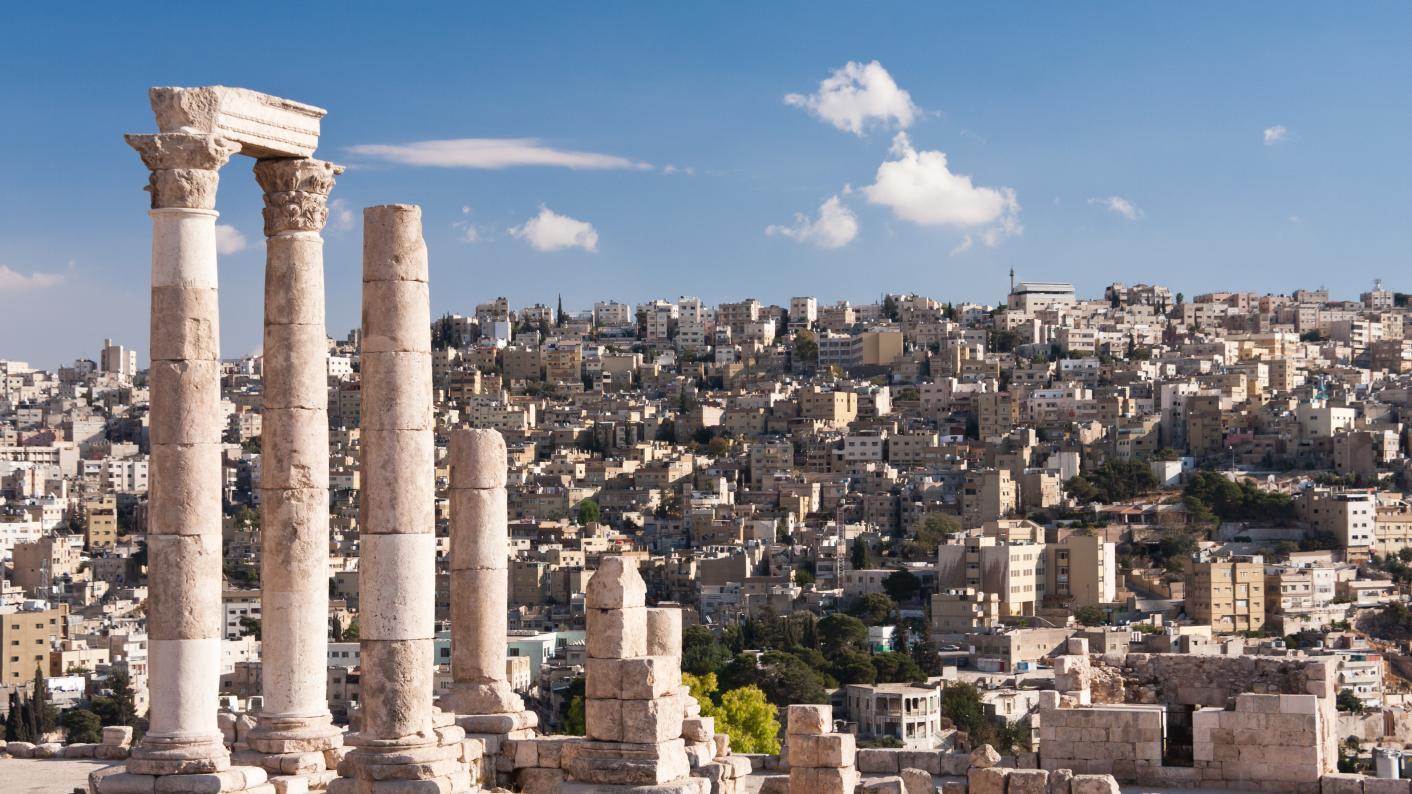 'In Jordan, history is on my school's doorstep'