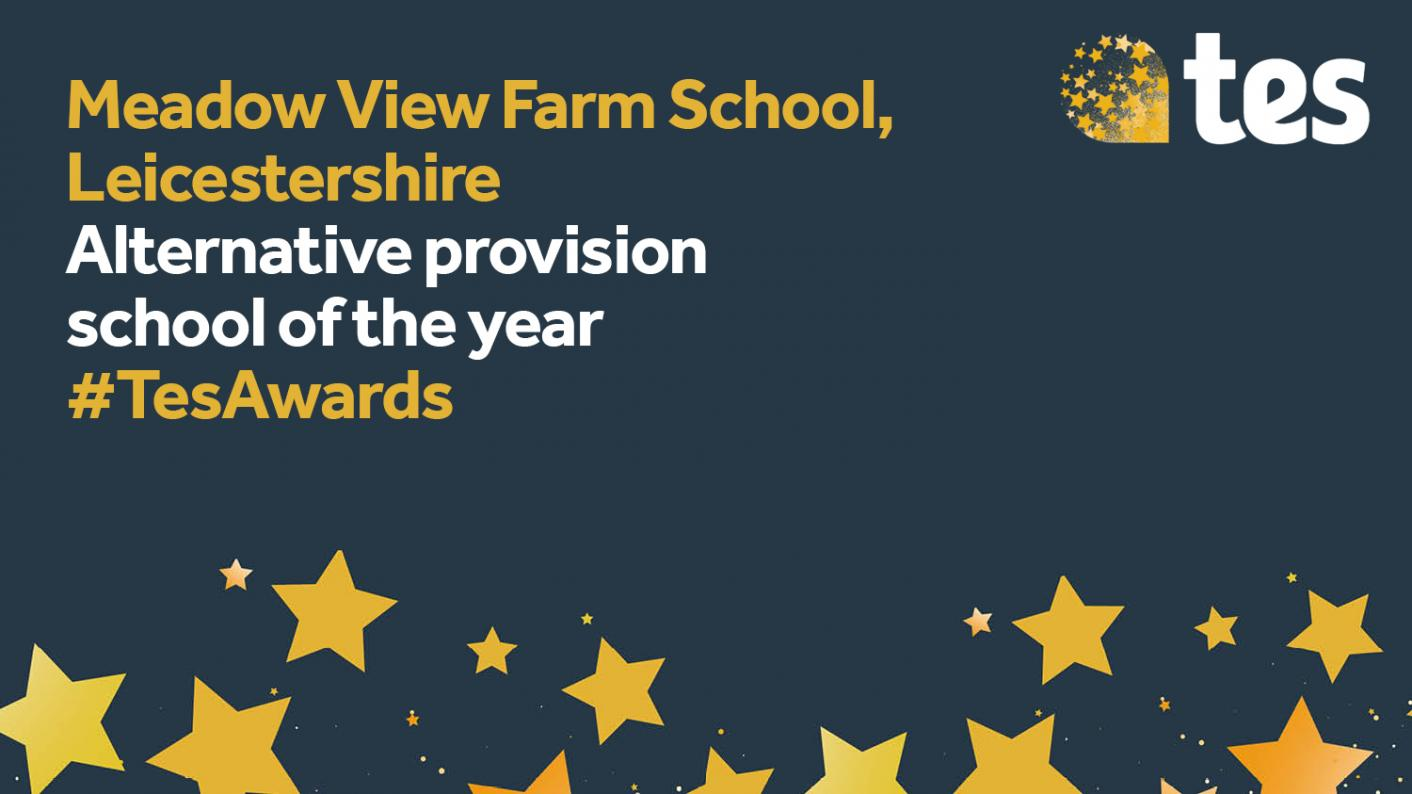 Tes Awards: Alternative provision school of the year