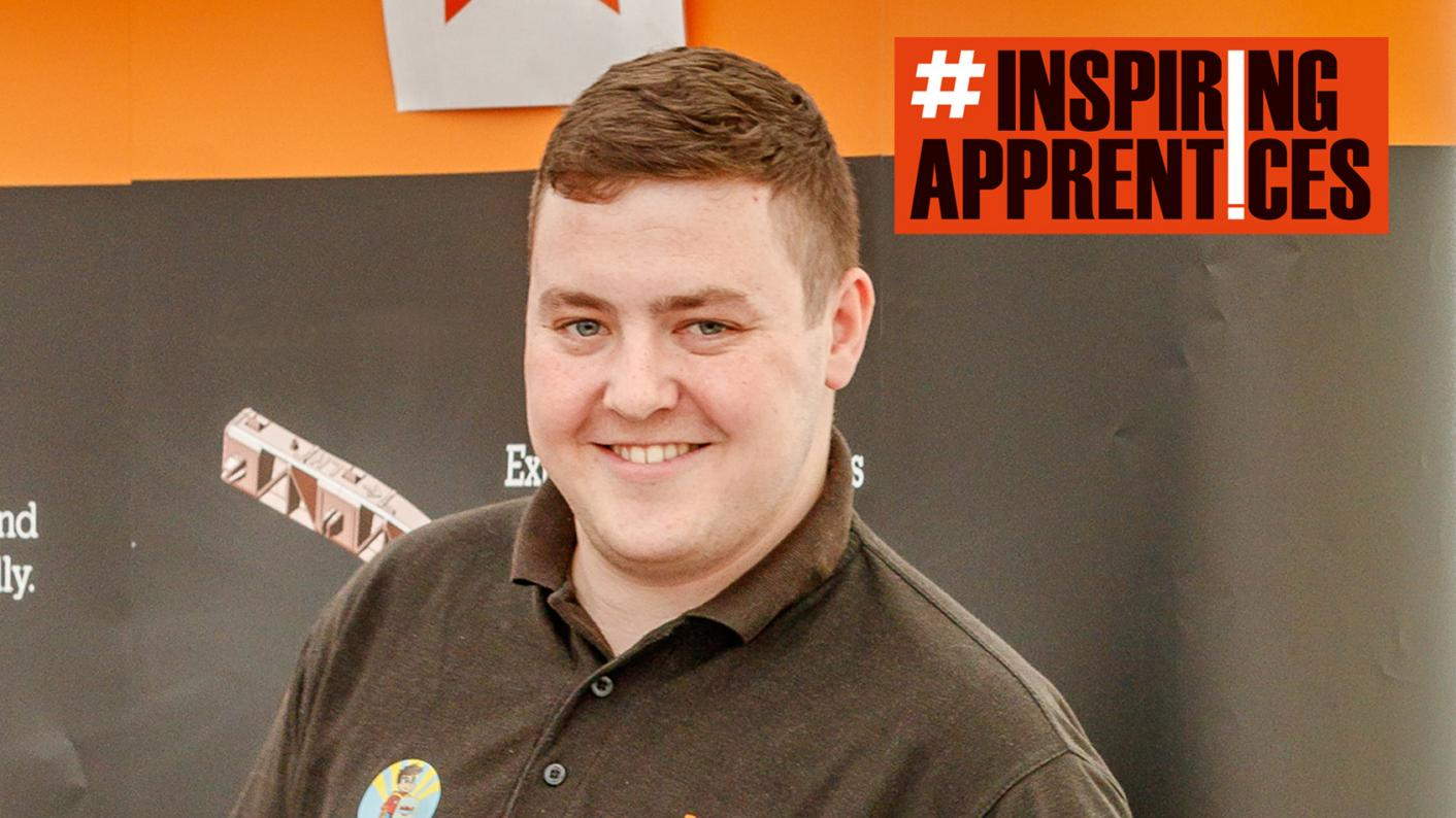 #InspiringApprentice James Harrington has just finished his second apprenticeship - and now has his sights set on a degree