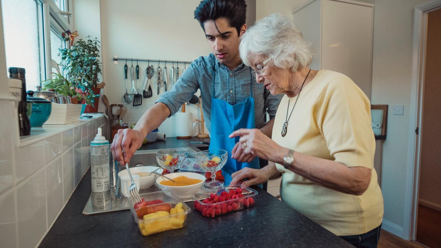 The number of apprenticeship starts in adult care has increased over the past year