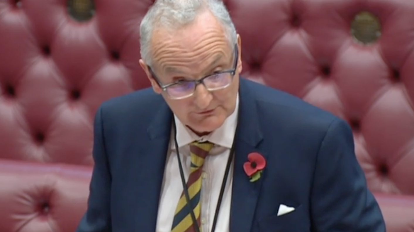Lord Agnew faced tough questioning from Northern heads on funding.