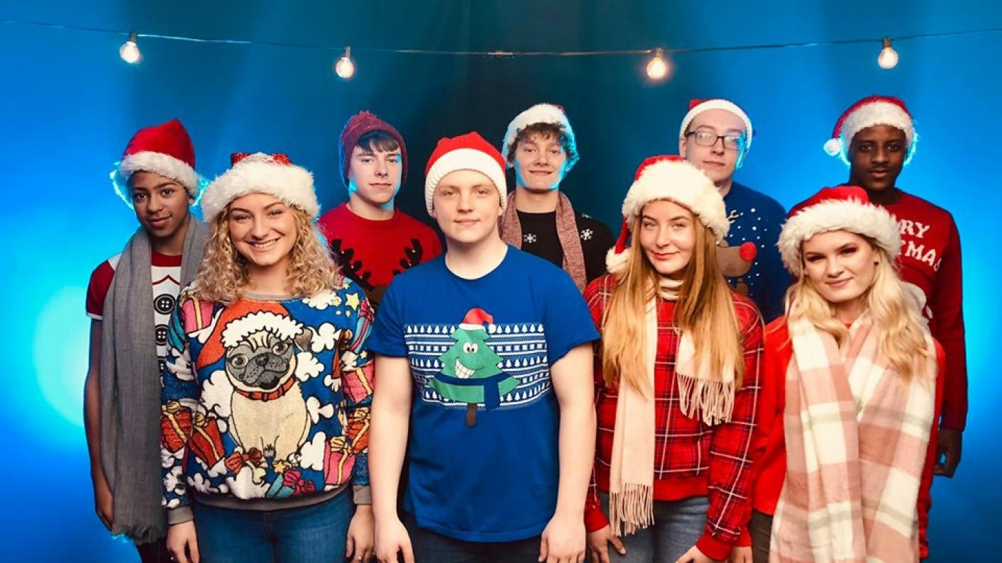 Oldham College has released a Christmas single for charity