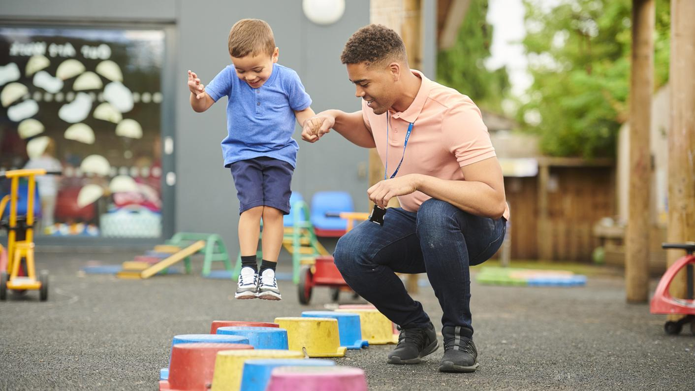 EYFS equality: How can we get more men to work in early years?