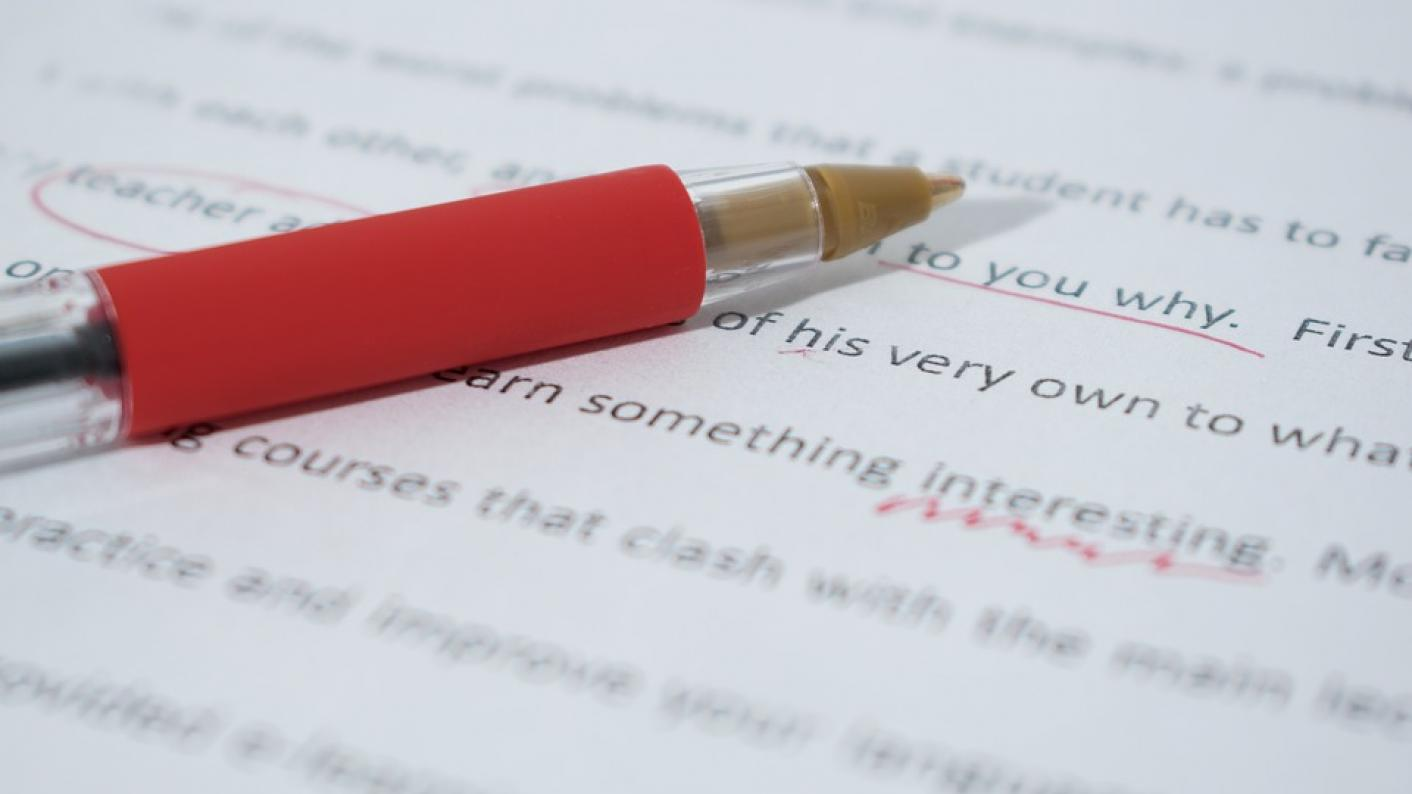 Teaching grammar does not improve children's writing ability, research finds