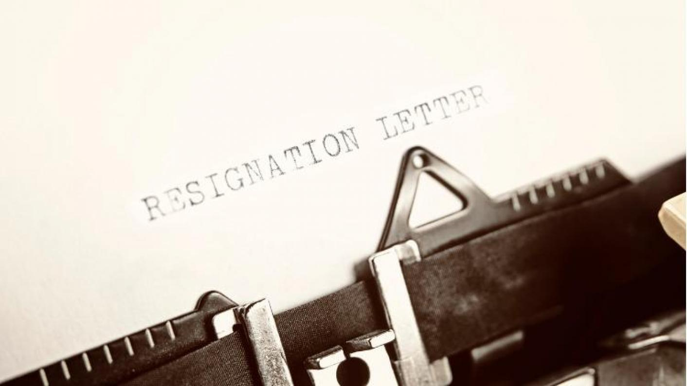 News article image u0027 I have resigned