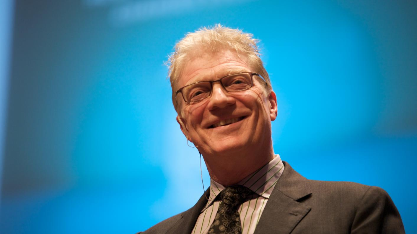 Sir Ken Robinson: 'The education system is a dangerous myth'