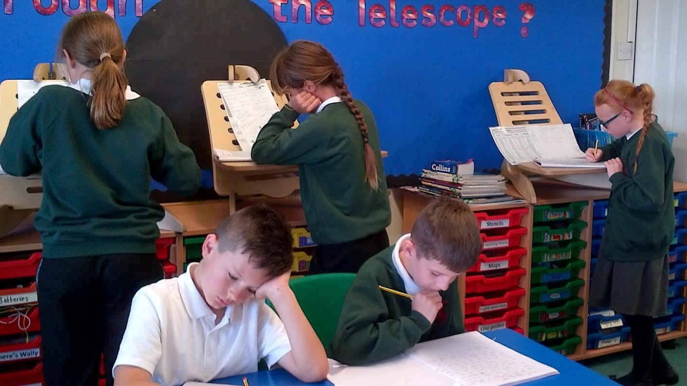 Long read: Do classrooms need standing desks?