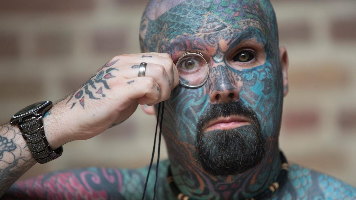 'I have seven tattoos, but I agree with my school policy that says you should hide them in class'
