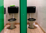 Some pupils don't eat or drink specifically to avoid using the school toilets, research suggests