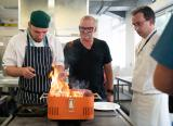 Heston Blumenthal has said the current education system is killing creativity and the focus on linear progression has to change